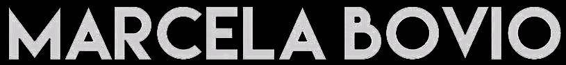 MARCELA BOVIO - logo