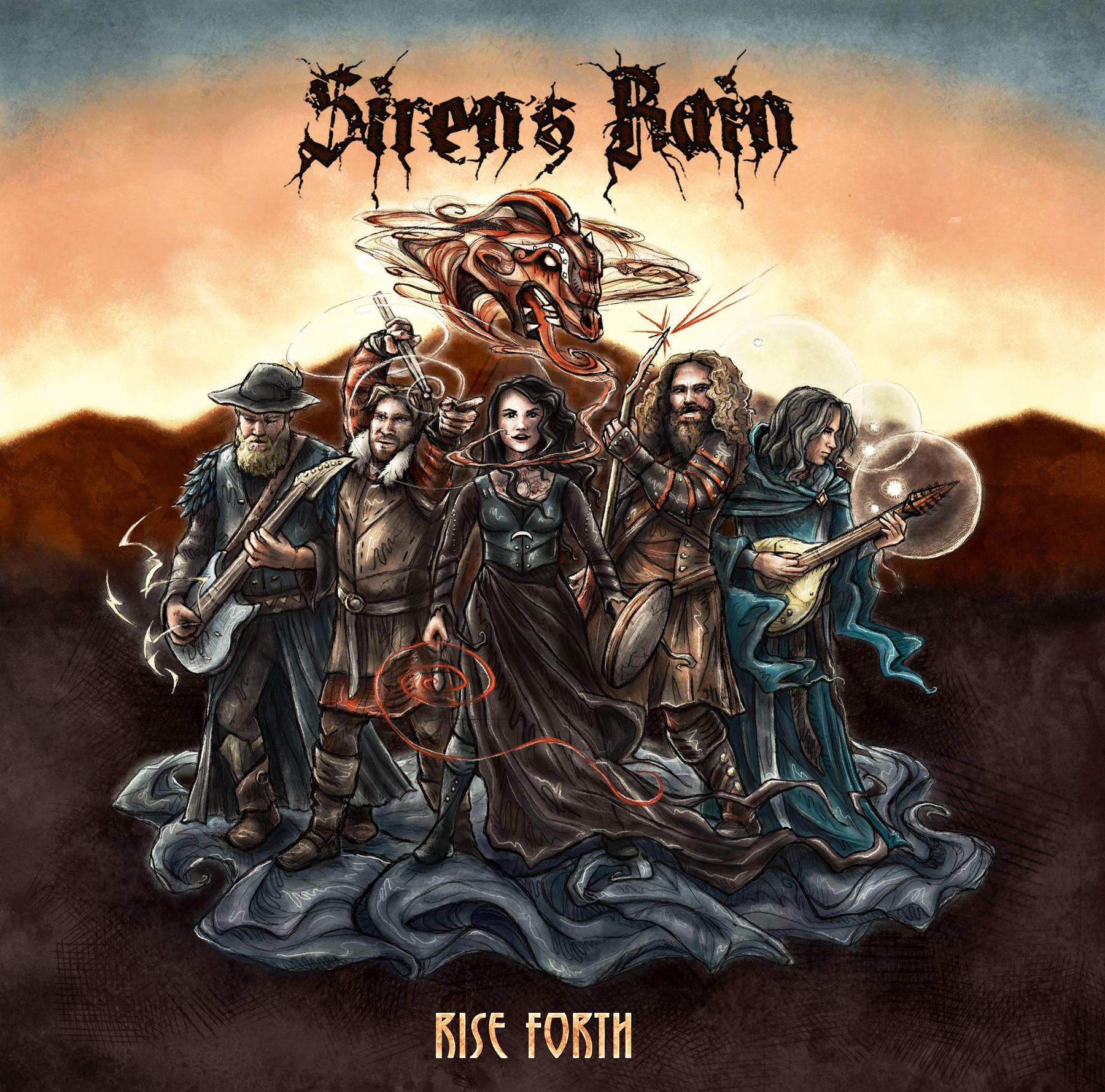 SIREN'S RAIN album
